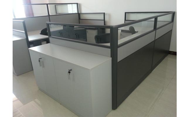 美高办公家具工程案例实景照片 行政办公室[办公屏风]