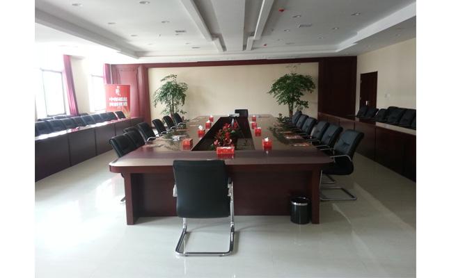 美高办公家具工程案例实景照片 会议室[实木会议桌椅]
