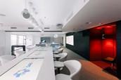 【武汉办公家具厂】前卫时尚的俄罗斯SIAB银行办公家具