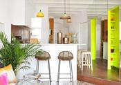 寒冬给你温暖 来看看设计师们如何用色彩巧分空间