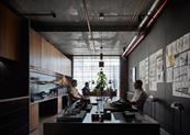 45㎡工作室设计得看起来像450㎡?