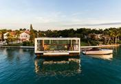 Arkup:一座酷炫狂拽的新型水上豪宅
