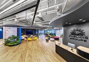 办公室里的彩虹 尽在阳狮集团旧金山总部