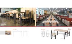 快餐桌椅MG-KC07
