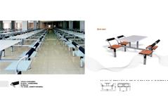 快餐桌椅MG-KC10