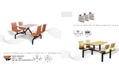 快餐桌椅MG-KC11