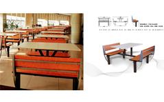 快餐桌椅MG-KC12