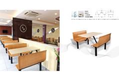 快餐桌椅MG-KC15