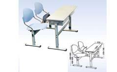 学校课桌椅MG-KZ10