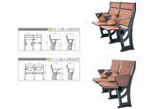 学校课桌椅MG-KZ02